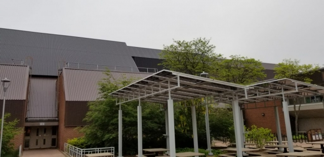 Installation of SolarWall® Single-Stage System
